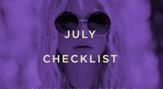 July checklist