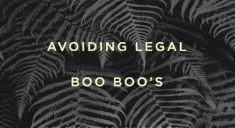 avoiding legal boo boos
