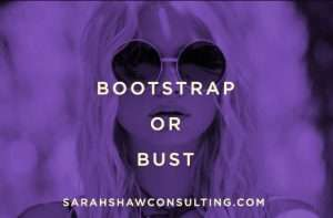 bootstrap or bust