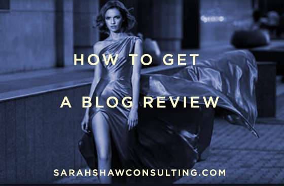 how to get a blog review