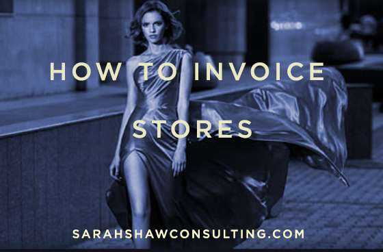 how to invoice stores