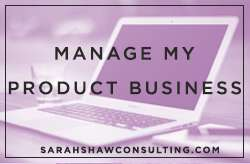 launch my product sarah shaw