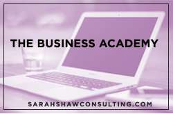 Sarah shaw business academy