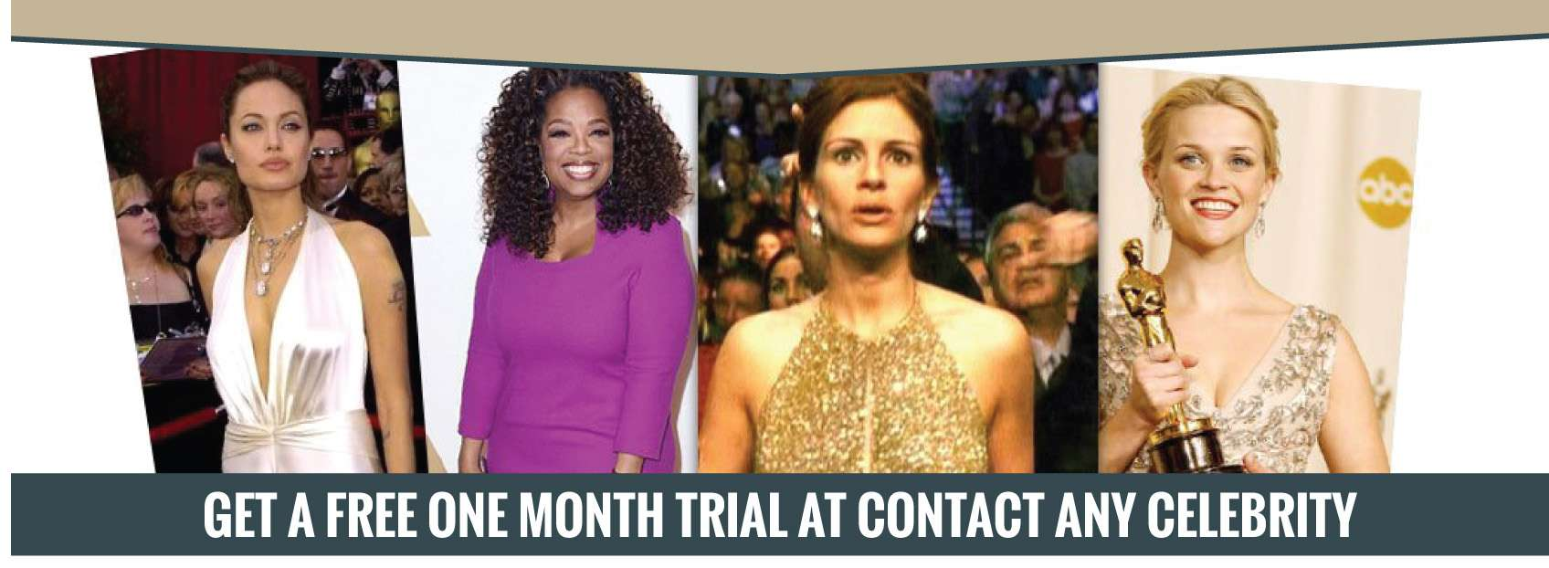 Contact any celebrity free trial
