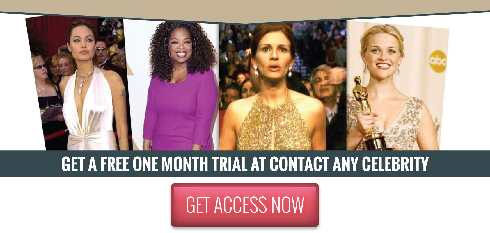 Access contact any celebrity