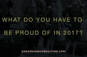 Set goals for 2018