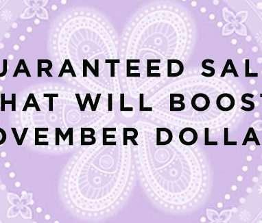 boost november sales
